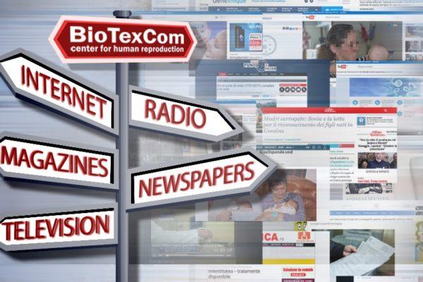 """""""BioTexCom"""" în presa internațională: activitatea clinicii de reproducere umană din Kiev reflectată în mass-media europeană"""