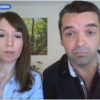 Cuplu francez care se află în așteptarea nașterii bebelușului la BioTexCom, a acordat un scurt interviu pentru La Maison des Maternelles