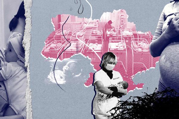 """Drama industriei de """"fabricat bebeluși"""" din Ucraina: femei care nasc pe bani și copilași captivi într-un hotel cu sârmă ghimpată"""