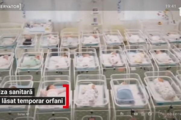 Criza sanitară i-a lăsat temporar orfani pe copiii născuți din mame purtătoare